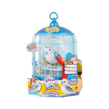 Little Live Pets ptica v kletki Prince Charmer S4