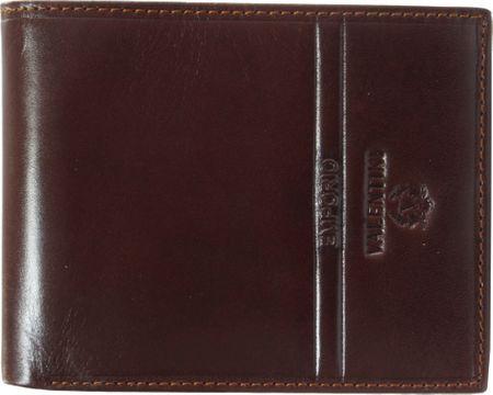 Emporio Valentini usnjena denarnica M 563-292, moška, rjava