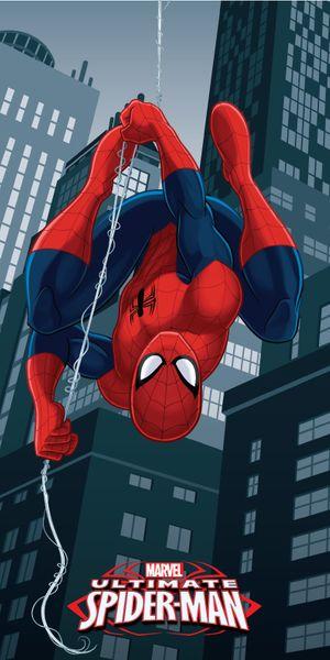 Jerry Fabrics Osuška mikrovlákno Spiderman 7 70x140 cm