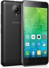 Lenovo mobilni telefon C2, crna