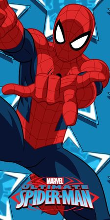 Jerry Fabrics Osuška mikrovlákno Spiderman 8 70x140 cm
