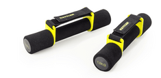 Kettler ročke za aerobiko Basic (7373-510), 2 x 1 kg, črno-rumene