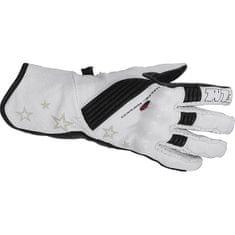FLM moto športne usnjene rokavice FLM 1.0, ženske bele