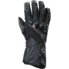 FLM moto športne usnjene rokavice FLM 1.0, ženske črne