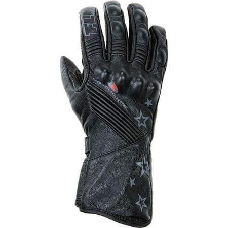 FLM moto športne usnjene rokavice FLM 1.0, ženske črne S