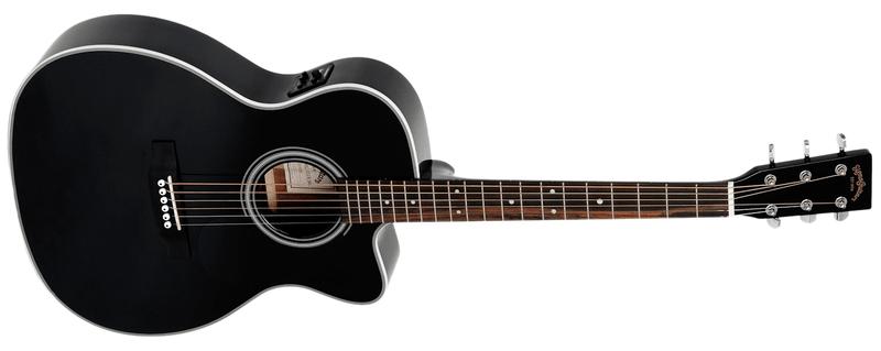 Sigma Guitars 000MC-1STE-BK Elektroakustická kytara