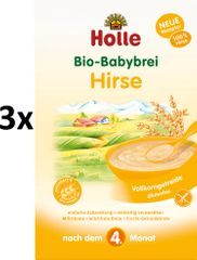 Holle Bio Pšenová  kaša - 3 x 250g