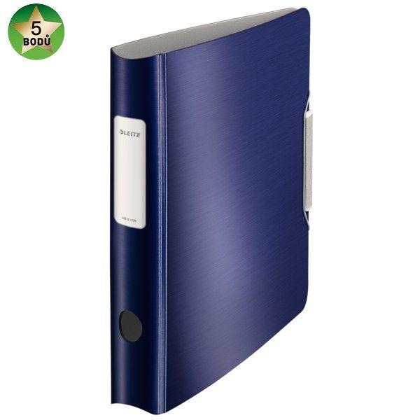 Mobilní pořadač Leitz 180 ACTIVE Style A4 6,5 cm titanově modrý