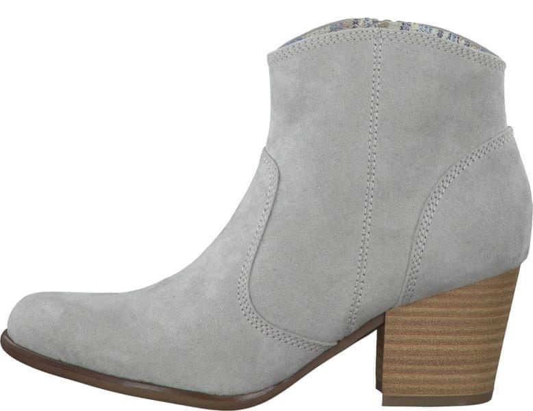 s.Oliver dámská kotníčková obuv 36 šedá