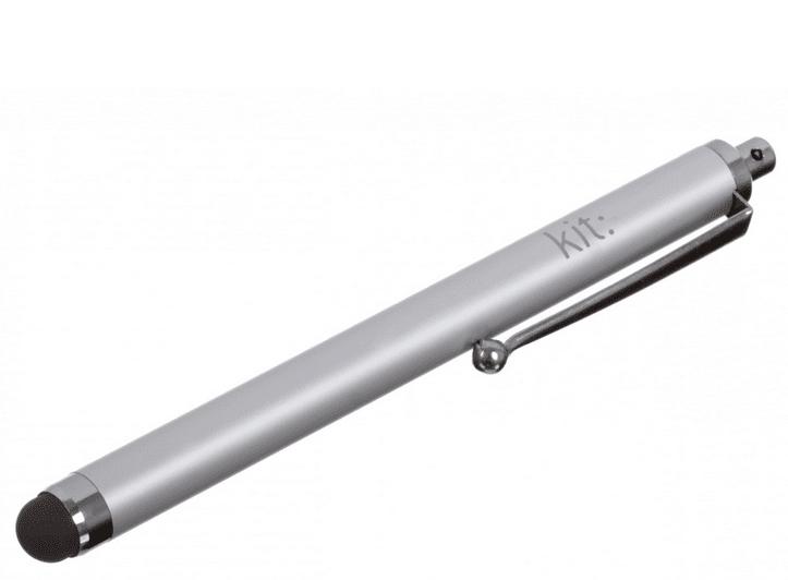 KIT stylus pro kapacitní displeje, stříbrný