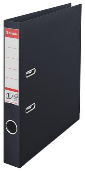 Pořadač pákový polypropylen Esselte No.1 POWER A4 5 cm černý