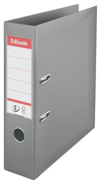 Pořadač pákový polypropylen Esselte No.1 POWER A4 7,5 cm šedý