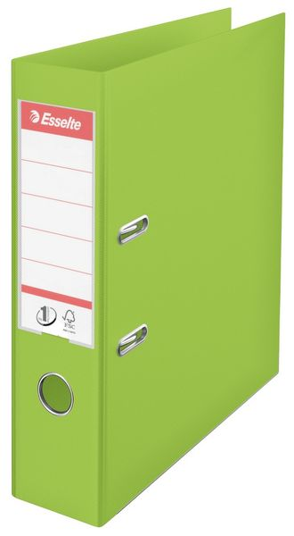 Pořadač pákový Esselte No.1 POWER VIVIDA, celoplastový A4 7,5 cm zelený