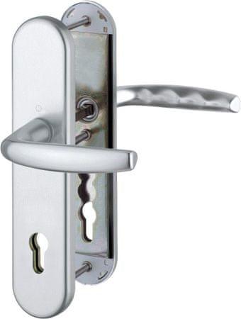 Hoppe Varnostna garnitura Atlanta 1530/3331/3310, ES1, F1, kljuka/kljuka, 92/8 mm 82-87 mm