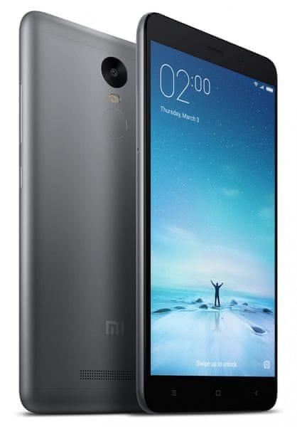 Xiaomi Redmi Note 3, CZ LTE, 3GB / 32GB šedý