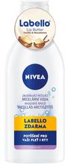 Nivea Zklidňující micelární voda C 400 ml + Labello Lip Butter vanilka