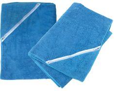 Bulldor brisača za fitnes - modra