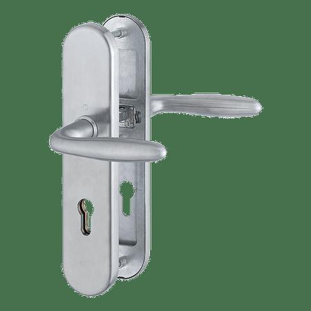Hoppe varnostna garnitura Verona E1800Z/3331/3330, ES1, F69, kljuka/kljuka, 92/8 mm, 68-72 mm