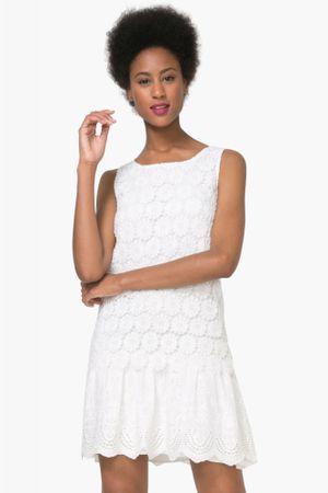 Desigual dámské šaty Barcelona 44 bílá