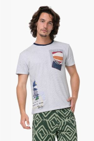 Desigual pánské tričko Michigan XL viacfarebná