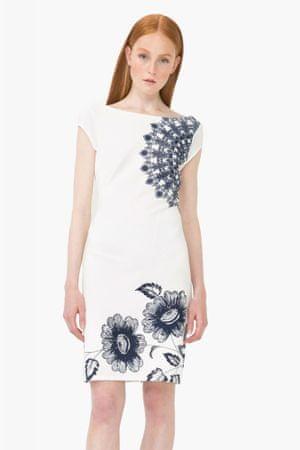Desigual ženska obleka Melisa M bela