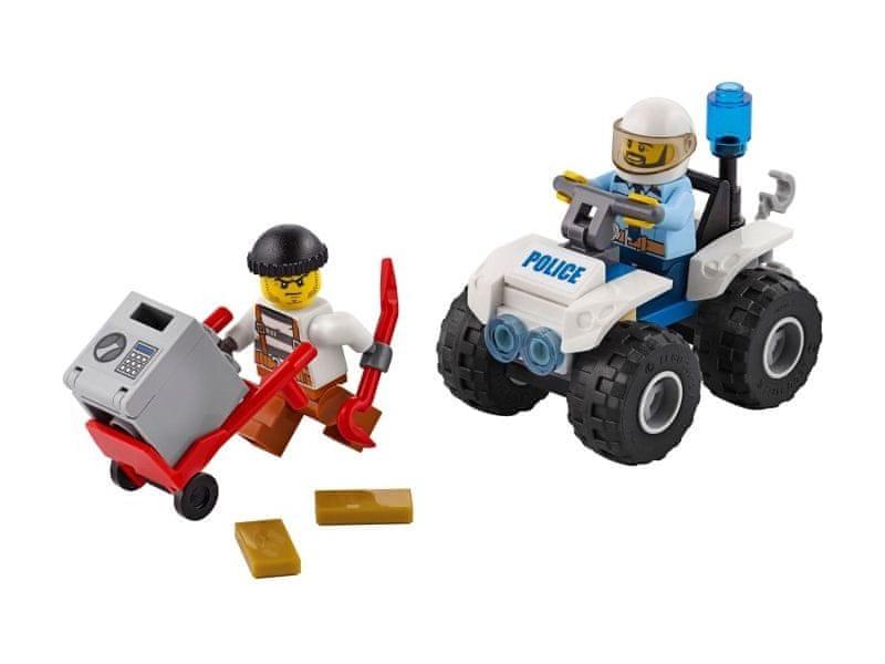 LEGO® City 60135 Zatčení na čtyřkolce