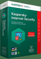 Kaspersky spletna zaščita Internet Security, obnovitvena licenca za 1 napravo, 1 leto