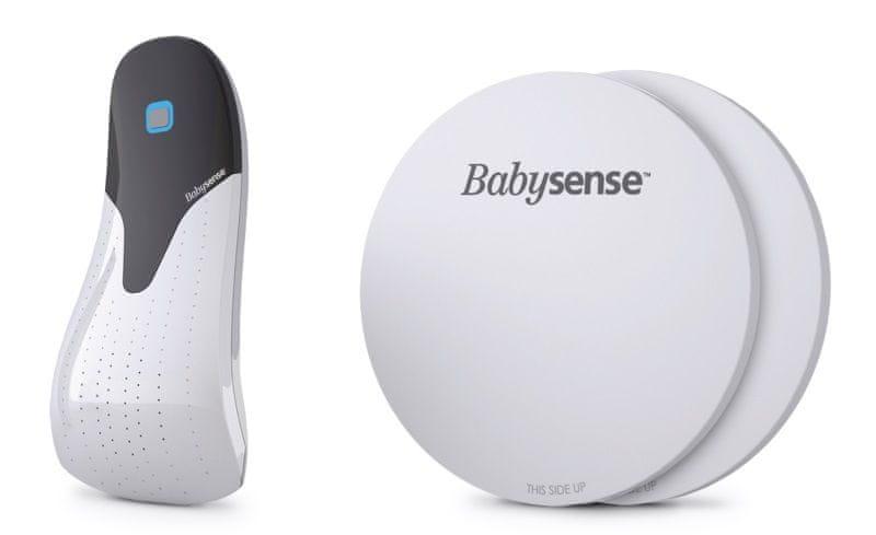 Babysense Monitor dechu Hisense BABYSENSE 5 + Dárek DVD - První pomoc dětem