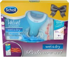 Scholl Velvet Smooth Wet&Dry + Intenzivné sérum 30ml