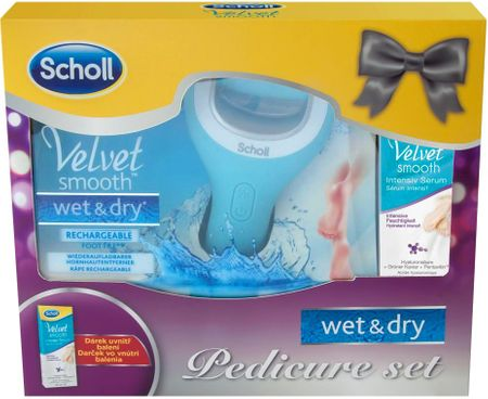 Scholl strugalica za pete Velvet Smooth Wet & Dry + Intensive Serum 30ml