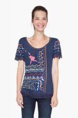 Desigual ženska majica Etetres