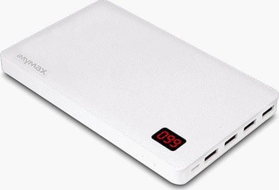 iMyMax Notebook Power Bank 30000mAh White