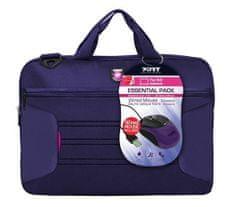 Port Designs torba za prenosnik Essential 39,6 cm (15,6'') in miška (501728), viola