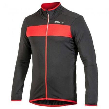 Craft moška kolesarska majica Move Thermal, M, črna/rdeča