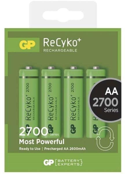 GP ReCyko+ AA 2600mAh 4ks