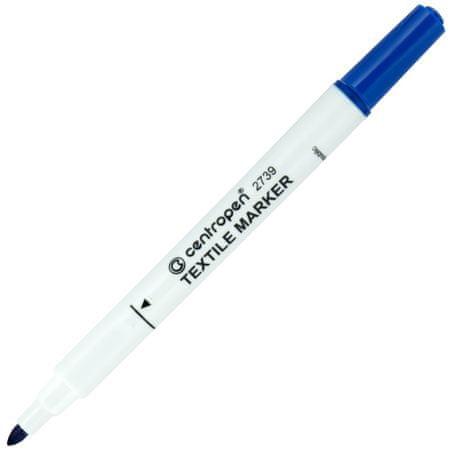 Značkovač 2739 Textil modrý