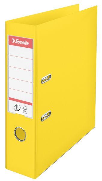 Pořadač pákový Esselte No.1 POWER VIVIDA, celoplastový A4 7,5 cm žlutý