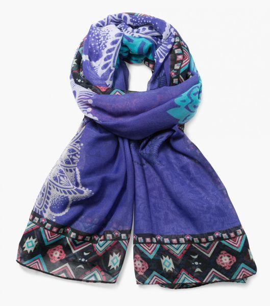 Desigual dámský vícebarevný šátek Rectangle New Emma