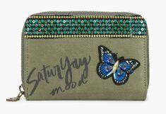 Desigual khaki dámská peněženka Magnetic Saturyay