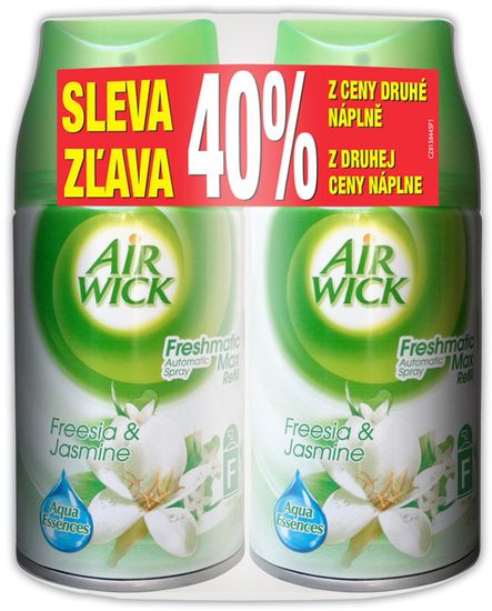 Air wick Freshmatic Max polnilo za osvežilec zraka, White flowers, 2x 250 ml