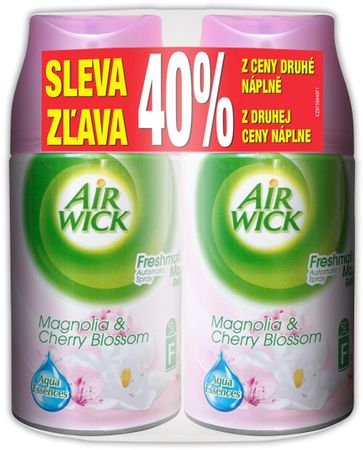 Air wick Freshmatic Max náplň Magnolie 2x 250 ml