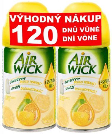 Air wick FreshMatic Max Náhradná náplň Citrus 2 x 250 ml