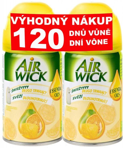 Air wick Freshmatic Max náplň Citrus 2x 250 ml