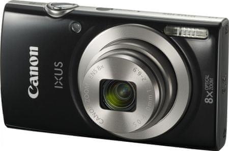 Canon kompaktni digitalni fotoaparat IXUS 185, crni
