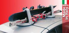 Fabbri nosilnik smuči Kolumbus Ski & Board, magnetni, z dvojnim varovanjem