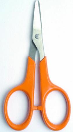 Fiskars škarje za manikuro, 10 cm, tope