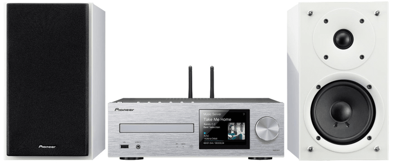 Pioneer X-HM76D-SW, bílá/stříbrná