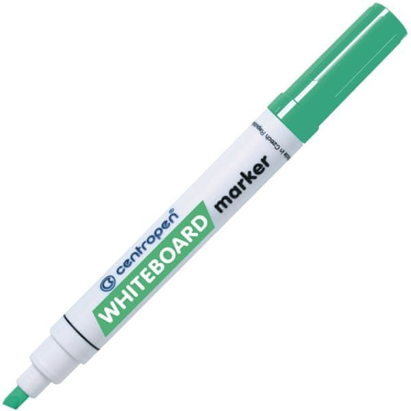 Značkovač 8569 na bílé tabule zelený