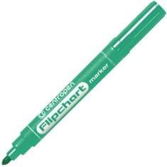 Centropen Značkovač 8550 Flipchart zelený