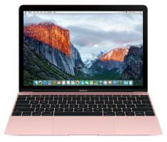 "Apple prenosnik MacBook 12"" 1.1Ghz Dual-Core m3, 256 GB, INT, Rose Gold"